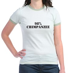 Chimpanzee Jr. Ringer T-Shirt