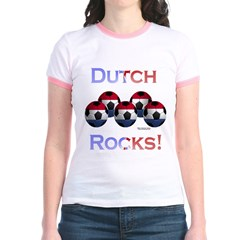 Dutch Football Rocks Jr. Ringer T-Shirt