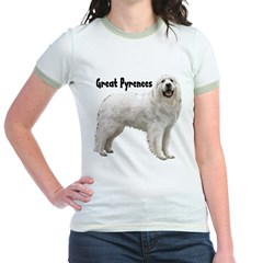Great Pyrenees Jr. Ringer T-Shirt