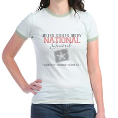 nationalguard.gif Jr. Ringer T-Shirt
