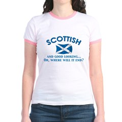 Good Lkg Scottish 2 Jr. Ringer T-Shirt