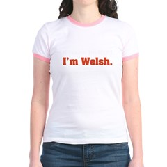 I'm Welsh Jr. Ringer T-Shirt