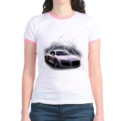 Joels car Jr. Ringer T-Shirt