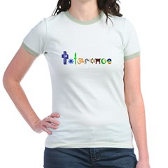 Tolerance Jr. Ringer T-Shirt