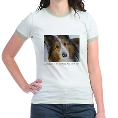 Loving You is like breathing Jr. Ringer T-Shirt