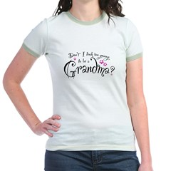 too_young_to_be_a_grandma Jr. Ringer T-Shirt