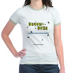 S-B Woman's Baseball tee Jr. Ringer T-Shirt