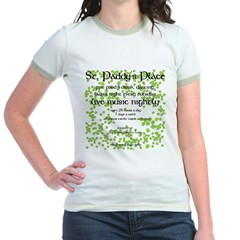 St. Paddy's Place Jr. Ringer T-Shirt