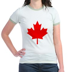 Maple Leaf Jr. Ringer T-Shirt