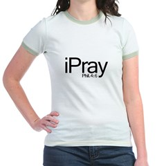 1ipray Jr. Ringer T-Shirt