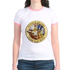 Ride the Bull Jr. Ringer T-Shirt