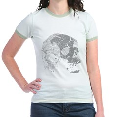 Skulls Double Time Jr. Ringer T-Shirt