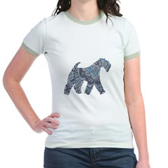Paisley Kerry Jr. Ringer T-Shirt