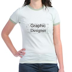 Graphic Designer Jr. Ringer T-Shirt