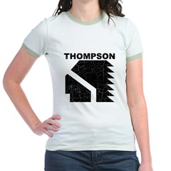 Thompson High Warriors Jr. Ringer T-Shirt