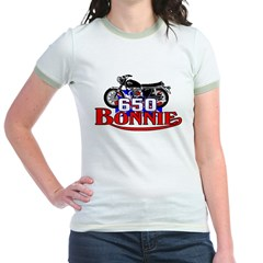 Triumph T-Shirt Spagetti Top Jr. Ringer T-Shirt