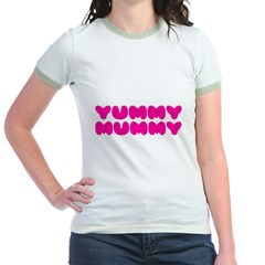 Yummy Mummy Jr. Ringer T-Shirt
