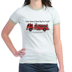GreatBigFireTruck Jr. Ringer T-Shirt