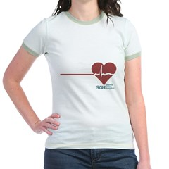 I Heart Grey's Anatomy Jr. Ringer T-Shirt