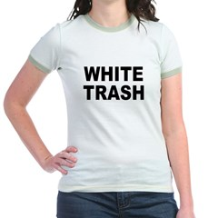 WhiteTrash.jpg Jr. Ringer T-Shirt