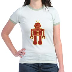 Robot Jr. Ringer T-Shirt