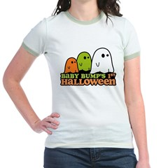 Baby Bump's 1st Halloween Jr. Ringer T-Shirt
