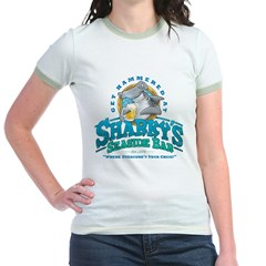 Sharky's Seaside Bar Jr. Ringer T-Shirt
