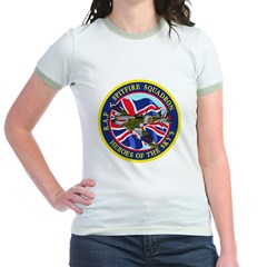 SPITFIRE w.UK flag Jr. Ringer T-Shirt