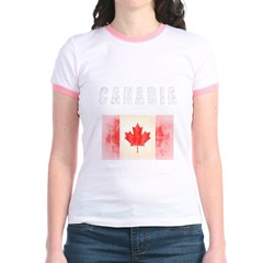 - Canadia Jr. Ringer T-Shirt