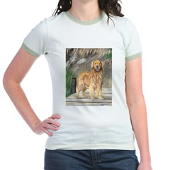 Golden Dock Dog Jr. Ringer T-Shirt