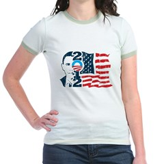 Barack Obama Jr. Ringer T-Shirt