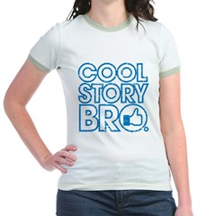 Cool Story Bro Jr. Ringer T-Shirt