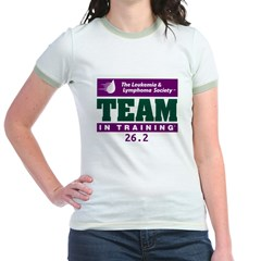 Team in Training - 26.2 Jr. Ringer T-Shirt
