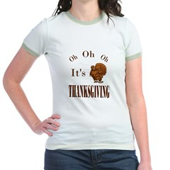 It's Thanksgiving! Jr. Ringer T-Shirt