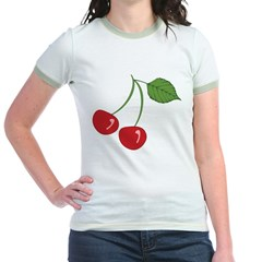 Classic Cherry Jr. Ringer T-Shirt