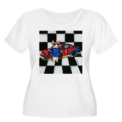 Start Your Engines! Women's Plus Size Scoop Neck T-Shirt