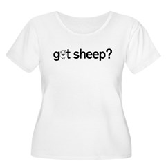 got Sheep? Women's Plus Size Scoop Neck T-Shirt