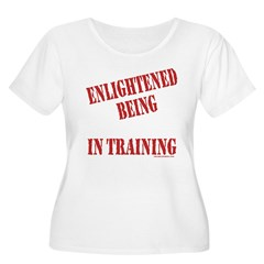 Enlightened Being Women's Plus Size Scoop Neck T-Shirt