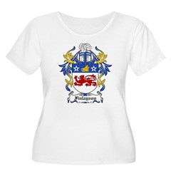 Finlayson Coat of Arms Women's Plus Size Scoop Neck T-Shirt