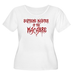Supreme Master of the Macabre Women's Plus Size Scoop Neck T-Shirt