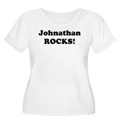 Johnathan Rocks! Women's Plus Size Scoop Neck T-Shirt
