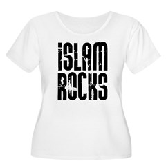 Islam Rocks Women's Plus Size Scoop Neck T-Shirt