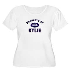 Property of rylie Women's Plus Size Scoop Neck T-Shirt