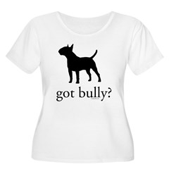 got bully? Women's Plus Size Scoop Neck T-Shirt