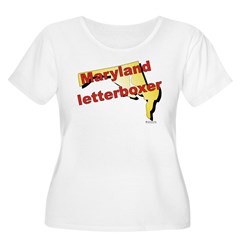 Maryland Women's Plus Size Scoop Neck T-Shirt