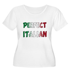 The Perfect Italian Women's Plus Size Scoop Neck T-Shirt