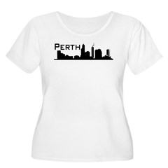 Western Australia. WA, Perth, Women's Plus Size Scoop Neck T-Shirt