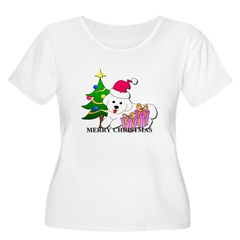 Bichon Frise Women's Plus Size Scoop Neck T-Shirt