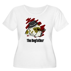 The Dogfather Women's Plus Size Scoop Neck T-Shirt