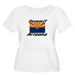 Summit Arizona Women's Plus Size Scoop Neck T-Shirt